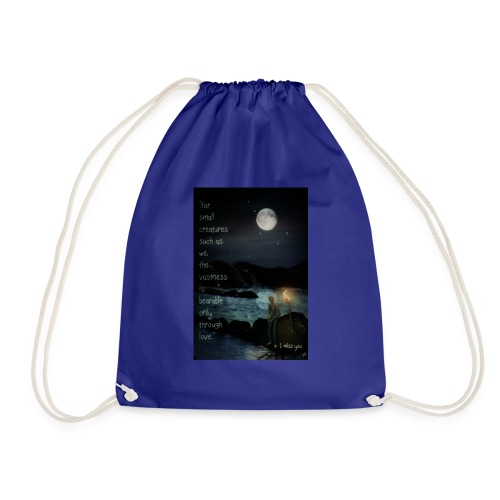 I miss you - Drawstring Bag