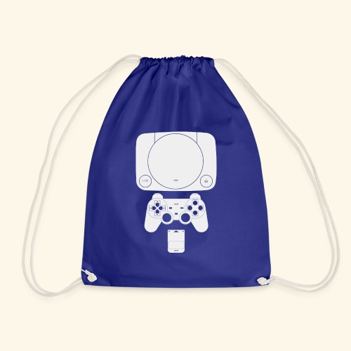 PS ONE Classic Console Design - Drawstring Bag