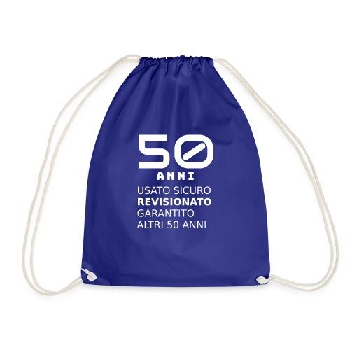 50 anni usato sicuro - Sacca sportiva