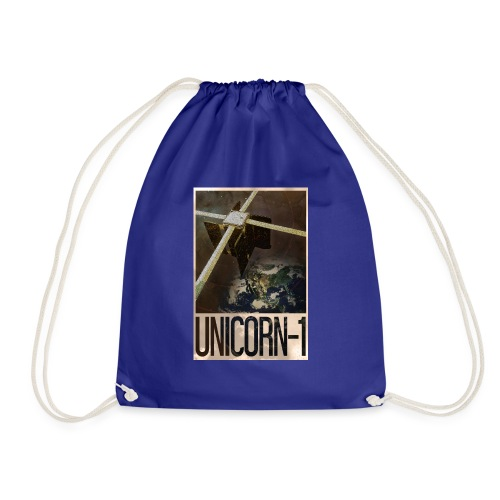 Unicorn 1 Soviet Style Poster - Drawstring Bag