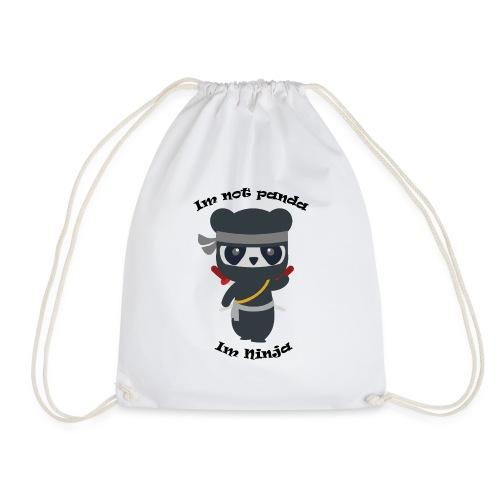 Non sono un Panda - Sacca sportiva