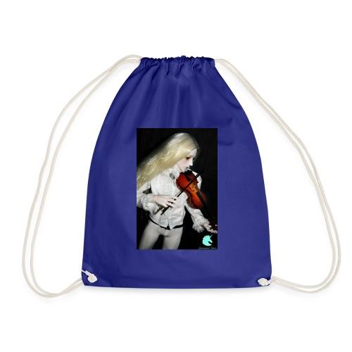 Vampire Violin Gothic Music Fantasy Enchanted - Drawstring Bag