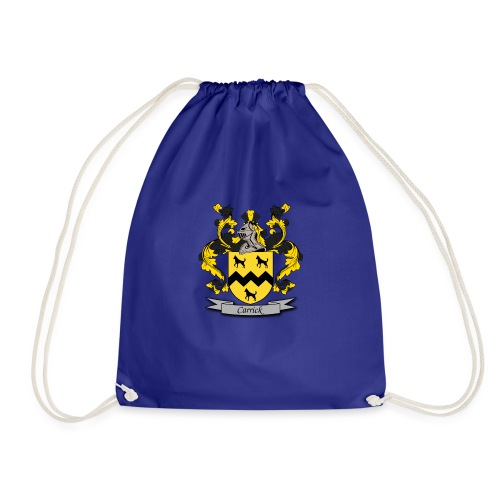 Carrick Family Crest - Drawstring Bag