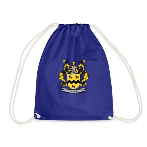 Carrick Family Crest - Drawstring Bag