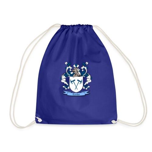 Eccles Family Crest - Drawstring Bag