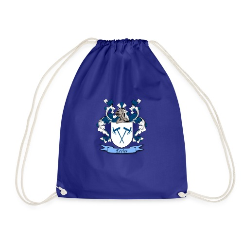 Eccles Family Crest - Drawstring Bag