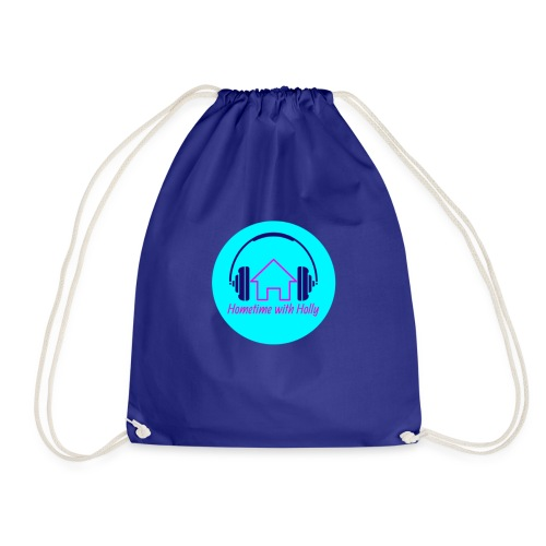 Hometime with holly badge - Drawstring Bag