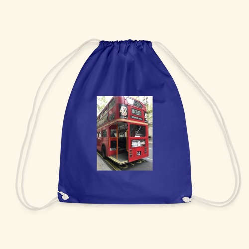 * LIMITED TIME * London Bus - Drawstring Bag