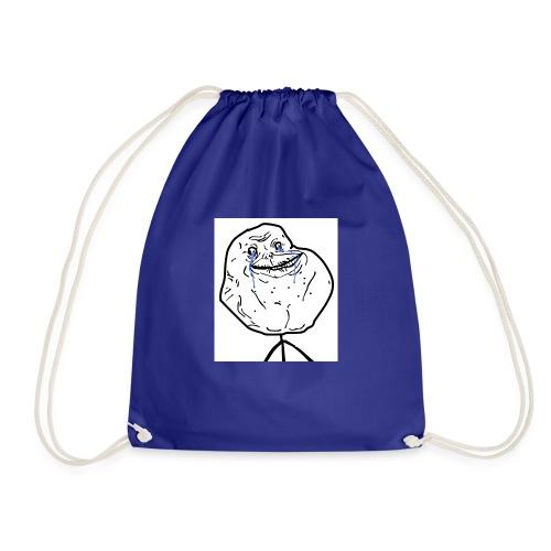 troll face - Drawstring Bag