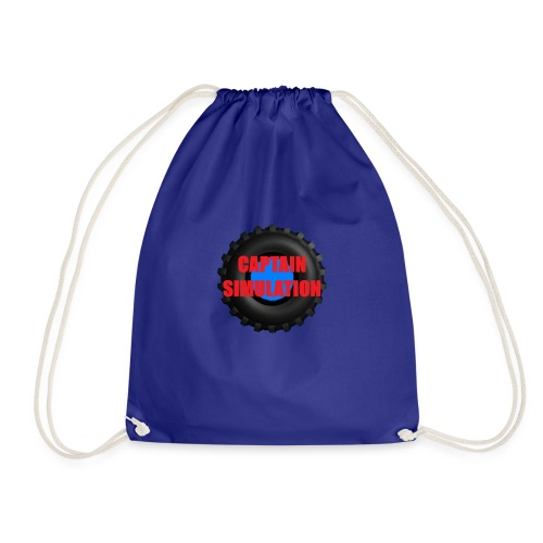 Logo with no blue background - Drawstring Bag