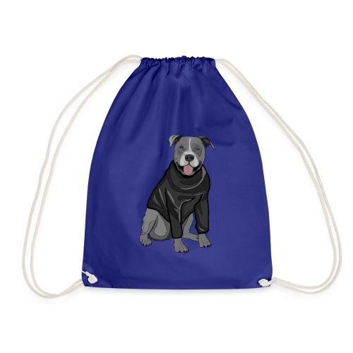 Süßer Hund Pullover Pulli Stafford Geschenk Idee - Turnbeutel