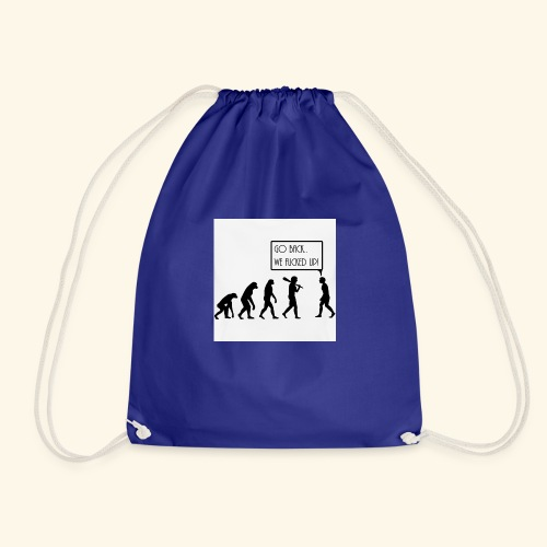 Evolution - Drawstring Bag