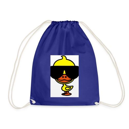 Cool duck - Drawstring Bag