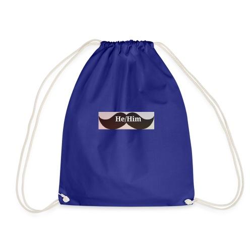 FTM/NB pronoun tee/accessories - Drawstring Bag
