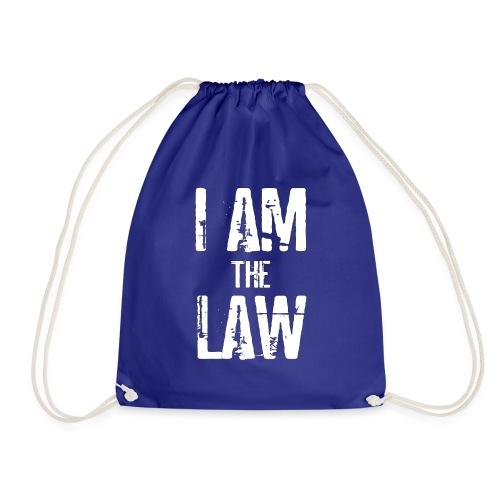 Tank top girl woman I AM THE LAW per avvocatessa - Drawstring Bag
