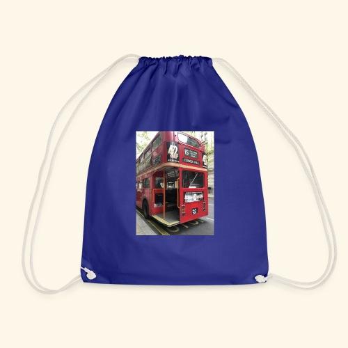 * LIMITED TIME * London Bus - Drawstring Bag