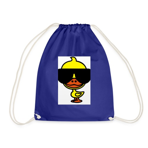 Cool duck - Drawstring Bag