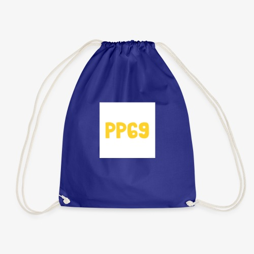 Pugs Plays69 Logo - Drawstring Bag