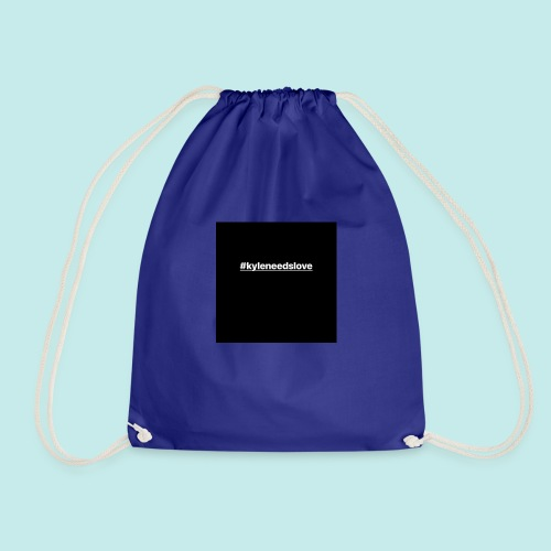 the iconic trademark for our campaign - Drawstring Bag