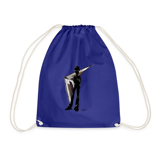 black pearl - Drawstring Bag
