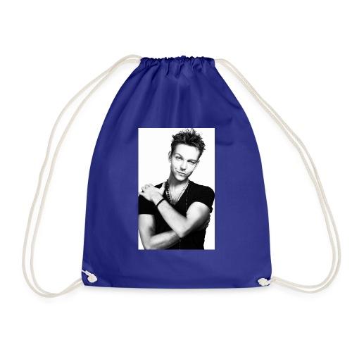 handsome guy - Drawstring Bag