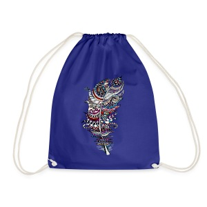 Feather For Heather - Drawstring Bag