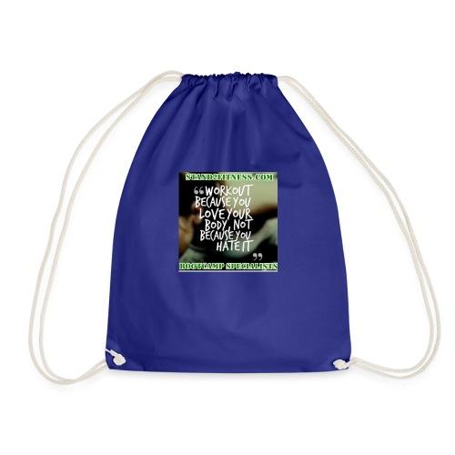 love your body - Drawstring Bag