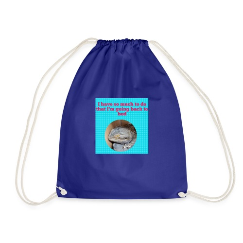 The sleeping dragon - Drawstring Bag