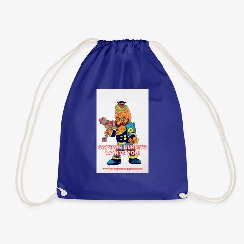 Captain Burrito - Drawstring Bag