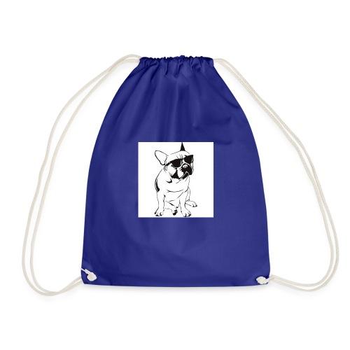 bulldog - Drawstring Bag