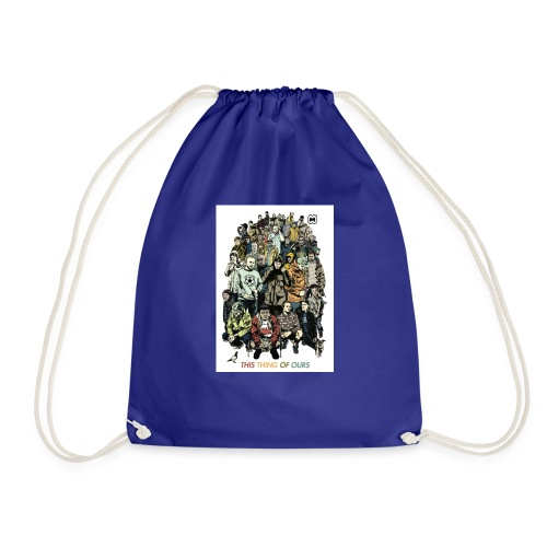 35e67845c9b6034146f6e4cacc68e097 casual co casual - Drawstring Bag