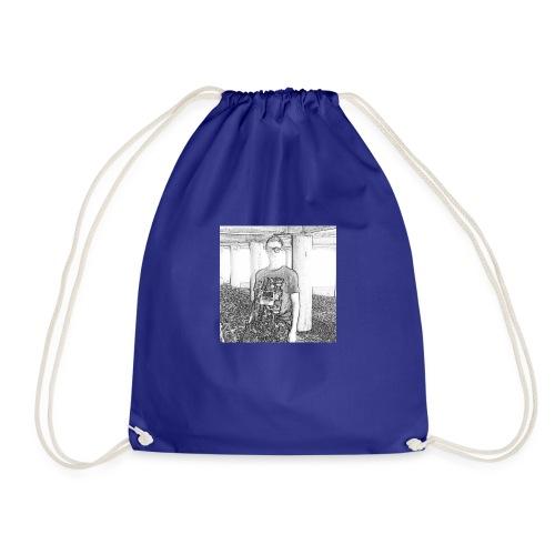 Tim Brown Sketch - Drawstring Bag