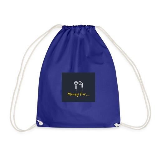 Money For Logo - Drawstring Bag