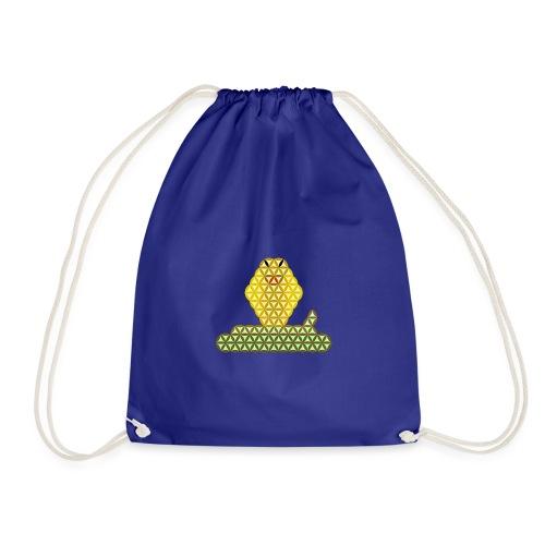 The Snake of Life - Sacred Animals, C01Y/G - Drawstring Bag