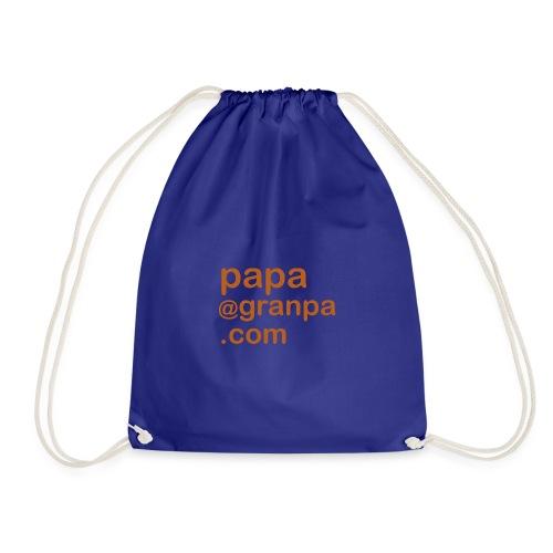 papa 1 - Drawstring Bag