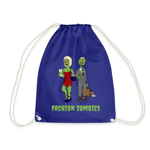 Fashion Zombie - Drawstring Bag