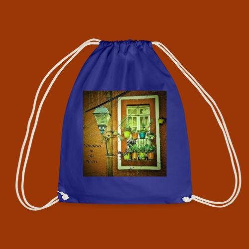 Windows in the Heart - Drawstring Bag