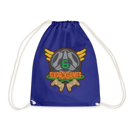 Sixpack Games Logo - Drawstring Bag