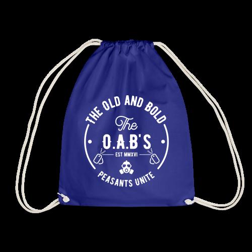 OAB unite white - Drawstring Bag
