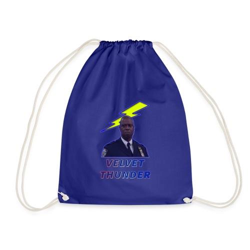 VELVET THUNDER - Drawstring Bag