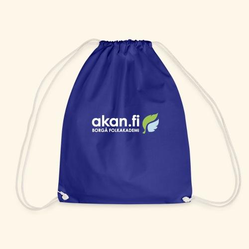 Akan White - Drawstring Bag