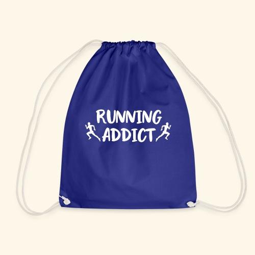 Running Addict Men Männer süchtig nach Laufen - Turnbeutel
