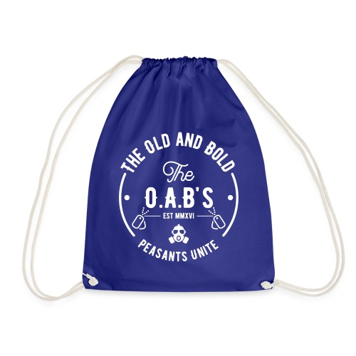 OAB unite white - Drawstring Bag