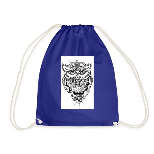 Owl - Drawstring Bag