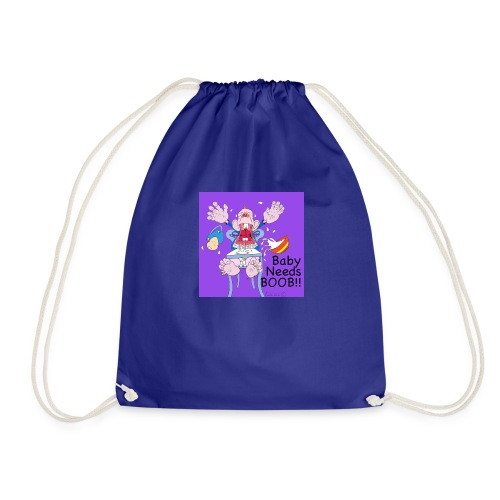 198375 4260054144999 212819122baby needs boob6 n - Drawstring Bag
