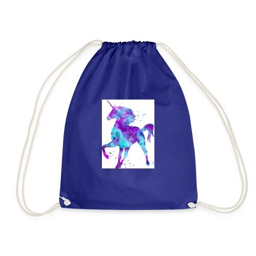 Unicorn cooper - Drawstring Bag