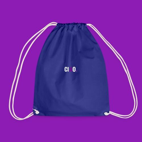 Purple Ciao - Drawstring Bag
