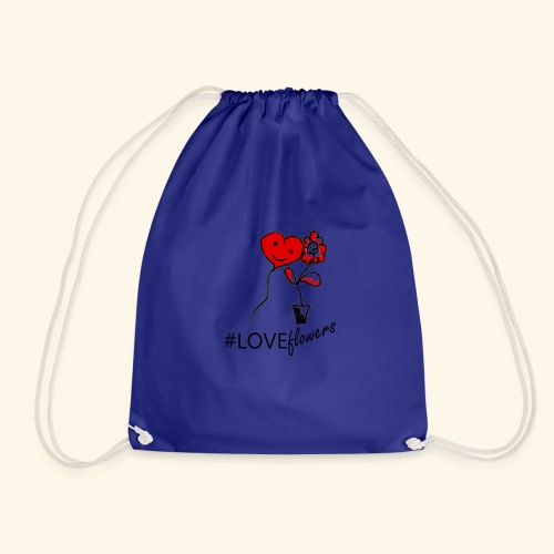 #loveflowers - Sacca sportiva