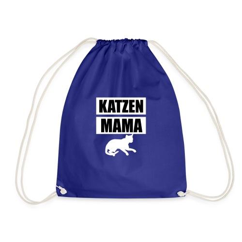 Katzen Mama - Cat Mother - Cat Mom - Katze - Turnbeutel