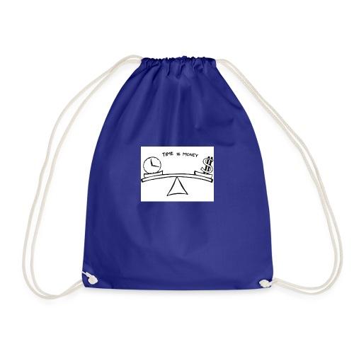 Time=money - Drawstring Bag